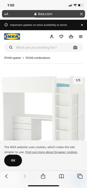 Stuva loft bed for Sale in San Diego, CA