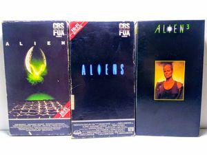 Alien Horror VHS Set for Sale in Garland, TX