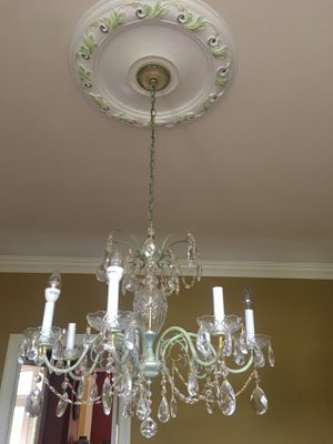 Crystal chandelier for Sale in Great Falls, VA