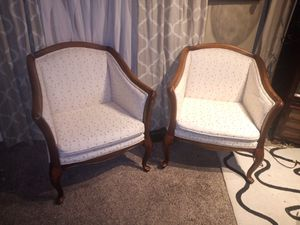Louis XIV set of two chairs for Sale in Dayton, OH