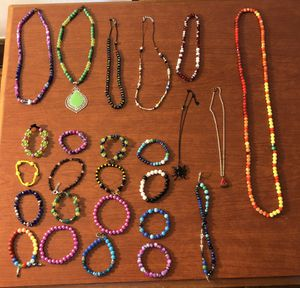 Bracelets and Necklaces (25 pieces) for Sale in Lakewood, OH