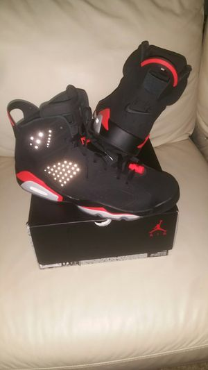 Nike Retro Jordan infrared 6s VI Jays bred Jordans vintage 90s sneakers shoes for Sale in Stafford, TX