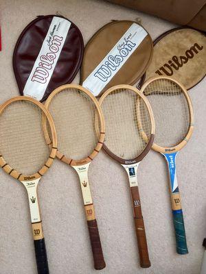 Wilson Vintage Tennis Rackets for Sale in Brisbane, CA