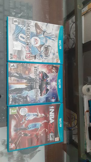 Nintendo wii u games bundle for Sale in Auburn, WA