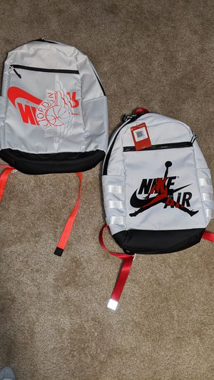 Brand new with Tags Nike Air Jordan backpack...$40 EACH for Sale in Columbia, SC