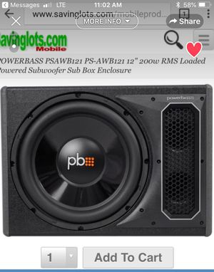 "Power bass subwoofer 12"" for Sale in Philadelphia, PA"