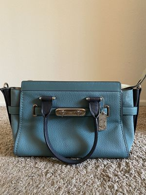 Authentic Blue Coach Purse with matching wallet. for Sale in Laguna Beach, CA