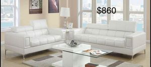 New leather couch set /$50 down / Free delivery for Sale in Anaheim, CA