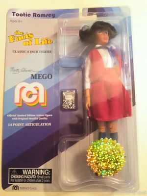 "COLLECTIBLE 2018 LIMITED EDITION MEGO TV FAVORITES THE FACTS OF LIFE TOOTIE RAMSEY 8"" ACTION FIGURE . for Sale in El Mirage, AZ"