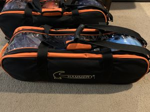 Various Hammer Bowling Bags for Sale in Mount Laurel Township, NJ