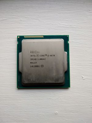 I5-4670 4 cores 3.4GHz base clock 3.8GHz turbo for Sale in Brandon, FL