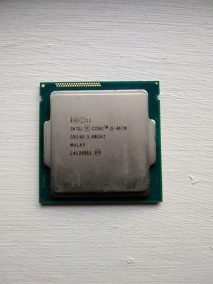 I5-4670 4 cores 3.4GHz base clock 3.8GHz turbo for Sale in Brandon, FL