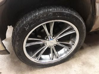 "22"" Rims and Tires. $450 or $650 for Sale in Puyallup,  WA"