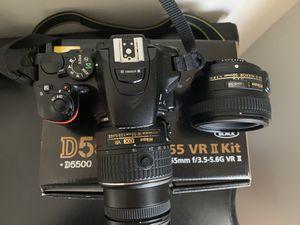 Nikon D5500 DSLR Camera Bundle for Sale in Fayetteville, NC