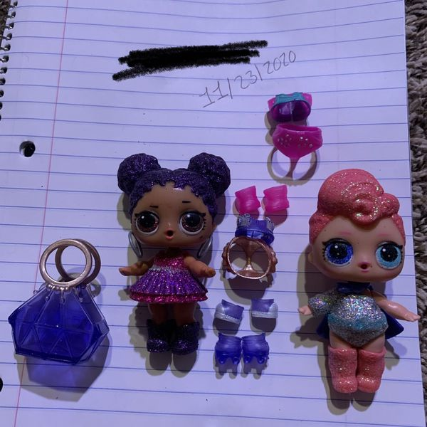 Purple Queen & Stardust Queen Lol Surprise Dolls