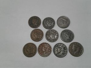 Large Cents antique coins for Sale in Windsor, CT