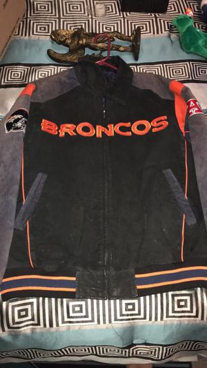 MENS NFL - DENVER BRONCOS JACKET SIZE XL for Sale in Charles Town, WV