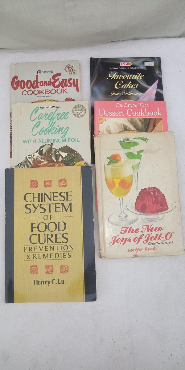 70s/80s cook books