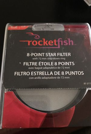 Lens filter 8 point star (Rocketfish) for Sale in Los Angeles, CA