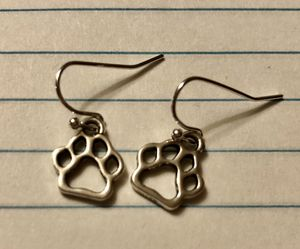 Cute Paw Print Earrings for Sale in Baltimore, MD