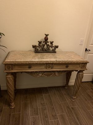 Solid wood console table for Sale in Goodyear, AZ