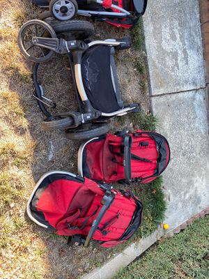 City Select Red Dual stroller w/ standing board for Sale in Castro Valley, CA