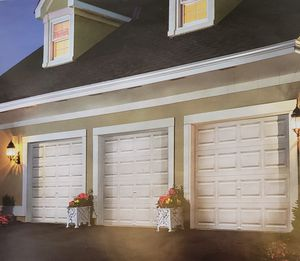 9x7 - 8x7 garage door installed assorted colors for Sale in Largo, FL