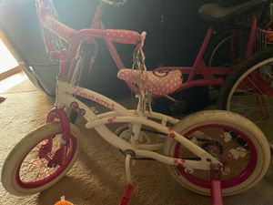 """14"""" Hello Kitty bike with training wheels best offer for Sale in St. Louis, MO"""