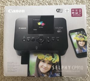 Canon Compact Photo Printer - Selphy CP910 NEW for Sale in Rockville, MD