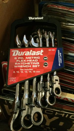 8pc ratcheting wrench set (new) for Sale in Allen Park, MI