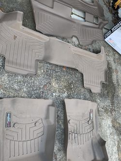 WeatherTech Floor Mats - 2016 Tahoe for Sale in Columbia,  SC