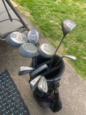 Golf clubs & BRAND NEW CLUB BAG for Sale in Langhorne, PA