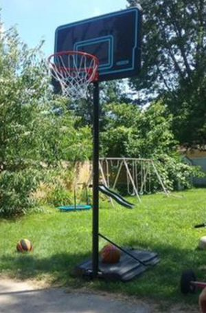 New!! Basketball hoop, backboard, portable basketball system for Sale in Tempe, AZ