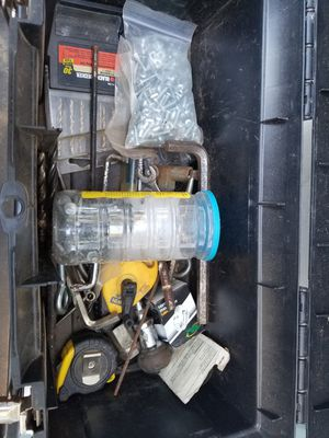 TOOL BOX WITH ITEMS SHOWN $20. for Sale in Glen Allen, VA