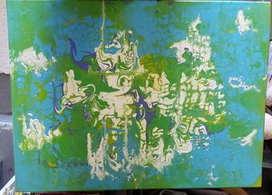 Abstract Art 16×20 Framed on Canvas for Sale in Jacksonville, FL