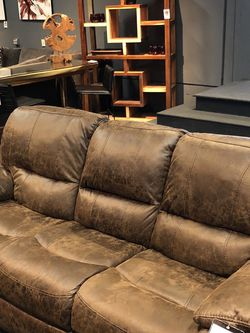 New & In Stock! Reclining Sofa Or Loveseat $599! $799 For Power for Sale in Vancouver,  WA