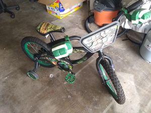 """16"""" Ninja turtle bike... bicicleta tortuga ninja for Sale in Houston, TX"""