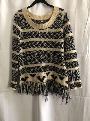 Aztec Fringe Sweater for Sale in Leesburg, VA