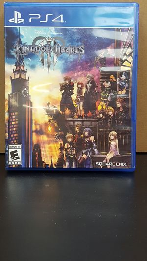 Kingdom hearts 3 for ps4 for Sale in Orange City, FL