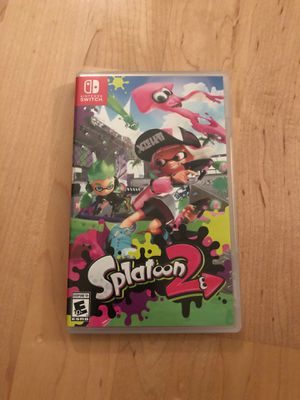 Splatoon 2 Nintendo Switch for Sale in Mequon, WI