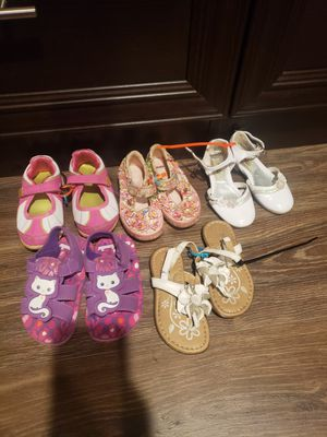 Size 8 kids shoes used condition. for Sale in Westminster, CA