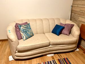 Clean bedding, couch, TV, desk, etc for Sale in Seattle, WA