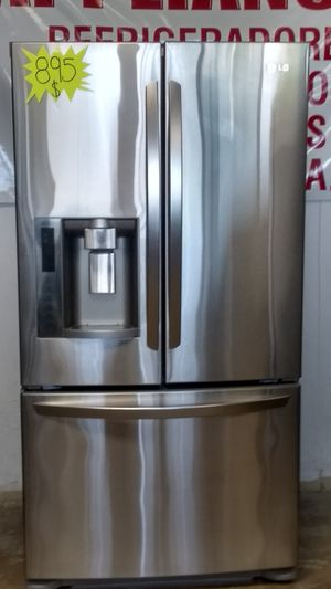 REFRIGERADOR L G STAINLESS FRENCH DOOR. for Sale in Grand Prairie, TX