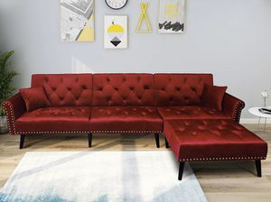 RED SOFA/SOFA BED for Sale in Hialeah, FL