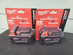 Milwaukee m18 battery 5.0 for Sale in Addison, IL