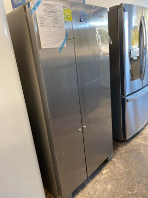 WE DELIVER! Whirlpool Refrigerator Fridge With Icemaker Brand New #769 for Sale in Levittown, PA