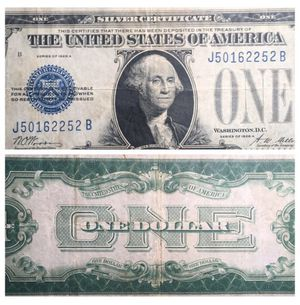 """1928 A """"Funny Back"""" One Dollar Note - Yes - It looked like that back then! for Sale in Geneva, IL"""