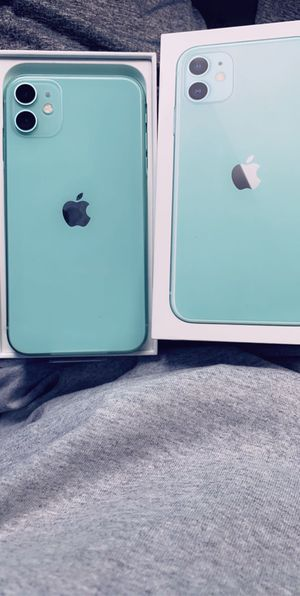 iPhone 11 mint green never used for Sale in Battle Creek, MI