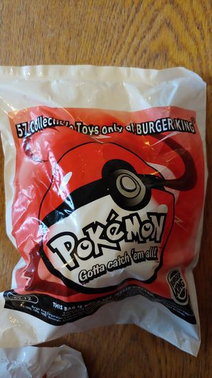 Burger king pokemon for Sale in Cincinnati, OH
