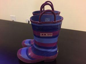 Rain boots LLBean kids for Sale in Sykesville, MD